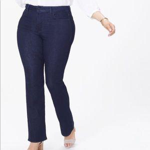 NYDJ Barbara bootcut plus size jeans